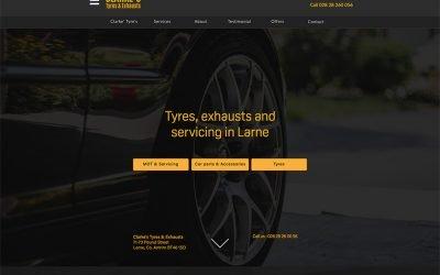 Clarkes Tyres Larne